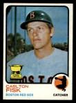1973 Topps #193   Carlton Fisk Front Thumbnail