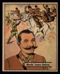 1941 Gum Inc. War Gum #102   Marshal S. Budenny  Front Thumbnail