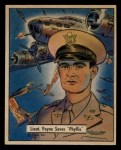1941 Gum Inc. War Gum #123   Lieutenant Paine Saves Phyllis Front Thumbnail