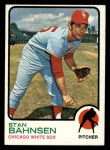 1973 Topps #20   Stan Bahnsen Front Thumbnail