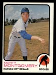 1973 Topps #164   Monty Montgomery Front Thumbnail