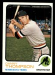 1973 Topps #443   Danny Thompson Front Thumbnail