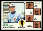 1973 Topps #377   -  Gene Mauch / Dave Bristol / Larry Doby / Cal McLish / Jerry Zimmrman Expos Leaders Front Thumbnail