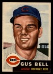 1953 Topps #118   Gus Bell Front Thumbnail