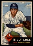 1953 Topps #174  Billy Loes  Front Thumbnail
