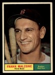 1961 Topps #445   Frank Malzone Front Thumbnail