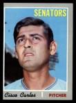 1970 Topps #487   Cisco Carlos Front Thumbnail