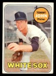 1969 Topps #465   Tommy John Front Thumbnail