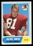 1968 Topps #86   Jackie Smith Front Thumbnail