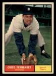1961 Topps #112  Chico Fernandez  Front Thumbnail