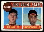 1969 Topps #304  Padres Rookies    -  Bill Davis / Cito Gaston Front Thumbnail