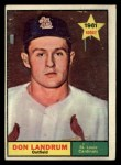 1961 Topps #338  Don Landrum  Front Thumbnail