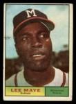 1961 Topps #84  Lee Maye  Front Thumbnail