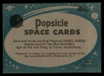 1963 Topps Astronaut Popsicle #15  Successful Recovery  Back Thumbnail