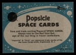 1963 Topps Astronaut Popsicle #37  Rest day for Glenn  Back Thumbnail