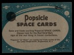 1963 Topps Astronaut Popsicle #3  Testing the Chimps  Back Thumbnail