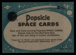 1963 Topps Astronaut Popsicle #12  Awaiting the Take-off  Back Thumbnail