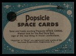 1963 Topps Astronaut Popsicle #25  Final checkup  Back Thumbnail