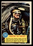 1963 Topps Astronaut Popsicle #12  Awaiting the Take-off  Front Thumbnail
