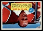 1963 Topps Astronaut Popsicle #37   Rest day for Glenn Front Thumbnail