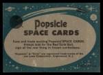 1963 Topps Astronaut Popsicle #51  Astronaut Donald Slayton  Back Thumbnail