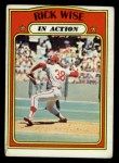 1972 Topps #44  In Action  -  Rick Wise Front Thumbnail