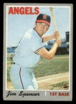 1970 Topps #255  Jim Spencer  Front Thumbnail