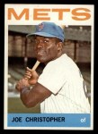 1964 Topps #546   Joe Christopher Front Thumbnail