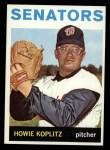 1964 Topps #372   Howie Koplitz Front Thumbnail