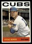 1964 Topps #131  Steve Boros  Front Thumbnail