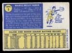 1970 Topps #5  Wes Parker  Back Thumbnail