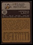 1973 Topps #391  Lee Lacy  Back Thumbnail