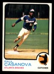 1973 Topps #452   Paul Casanova Front Thumbnail