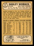 1968 Topps #431   Dooley Womack Back Thumbnail