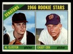 1966 Topps #549  Senators Rookies  -  Al Closter / Casey Cox Front Thumbnail