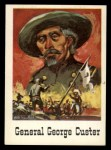 1966 Leaf Good Guys Bad Guys #45   General George Custer Front Thumbnail