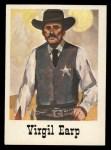 1966 Leaf Good Guys Bad Guys #33   Virgil Earp Front Thumbnail