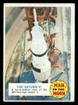 1969 Topps Man on the Moon #39 B  The Saturn V Front Thumbnail