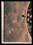1969 Topps Man on the Moon #51 B Hi There James McDivitt / David Scott / Russell Schweickart Back Thumbnail