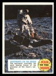 1970 Topps Man on the Moon #82 C  Footprints On The Moon Front Thumbnail