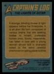 1976 Topps Star Trek #82  The Lights of Zetar  Back Thumbnail