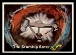 1976 Topps Star Trek #87   The Starship Eater Front Thumbnail