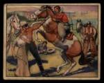 1940 Gum Inc. Lone Ranger #23  Threatening Hoofs  Front Thumbnail