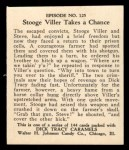 1931 Johnson Candy Dick Tracy #125   Stooge Viller Takes Chance Back Thumbnail