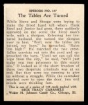 1931 Johnson Candy Dick Tracy #137   The Tables are Turned Back Thumbnail