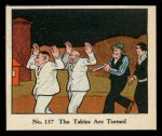 1931 Johnson Candy Dick Tracy #137   The Tables are Turned Front Thumbnail