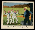1931 Johnson Candy Dick Tracy #124  Steve and Stooge at Bay  Front Thumbnail