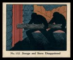1931 Johnson Candy Dick Tracy #132  Stooge and Steve Disappointed  Front Thumbnail