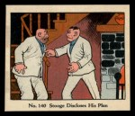 1931 Johnson Candy Dick Tracy #140   Stooge Discloses His Plan Front Thumbnail