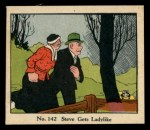 1931 Johnson Candy Dick Tracy #142  Steve Gets Ladylike  Front Thumbnail